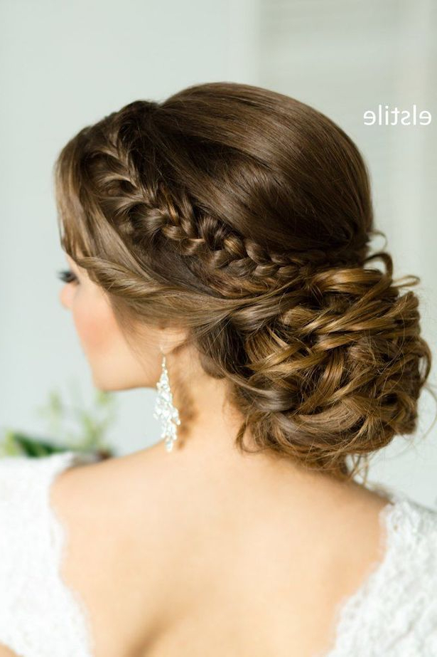 Trubridal Wedding Blog | Bridal Hairstyles Archives – Trubridal Throughout Highlighted Braided Crown Bridal Hairstyles (View 12 of 25)