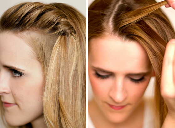 Try A Simple Waterfall Braid And Pin At The Crown (View 24 of 25)