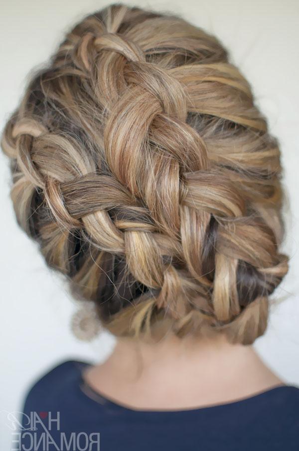 Ultra Trendy Asymmetrical Double Dutch Diagonal Braids – Hairstyles Inside Diagonal Waterfall Braid In Half Up Bridal Hairstyles (View 15 of 25)