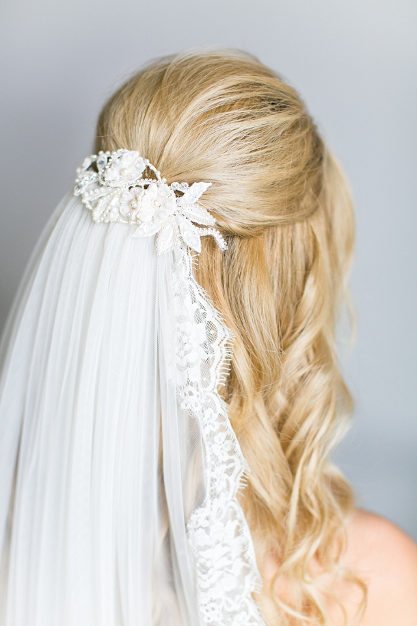 Understated Bridal Hair Get The Look With Jo Adams Hair Stylist With Regard To Blonde Half Up Bridal Hairstyles With Veil (View 10 of 25)