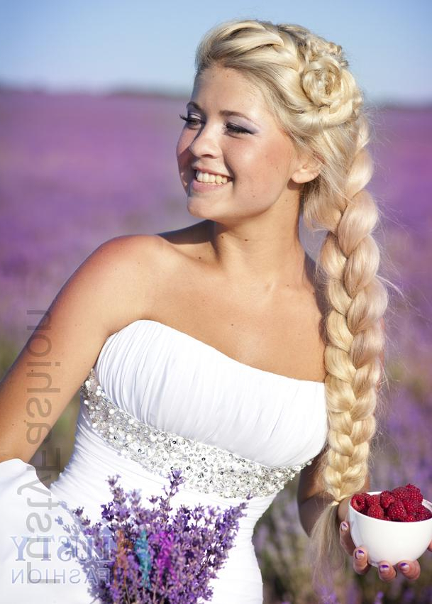 Unique Trends In Wedding Hairstyles For 2013 – Lustyfashion With Regard To Braided Lavender Bridal Hairstyles (View 13 of 25)