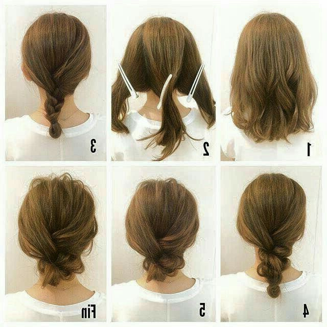 Updo On Short Hair (View 13 of 25)