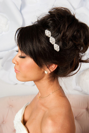 Updo With Hair Bump Archives – Southern Weddings Within Bumped Hairdo Bridal Hairstyles For Medium Hair (View 21 of 25)