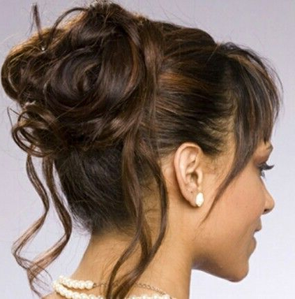 Updos For Mother Of The Bride | Hairstyles | Pinterest | Wedding Pertaining To Creative And Curly Updos For Mother Of The Bride (View 5 of 25)
