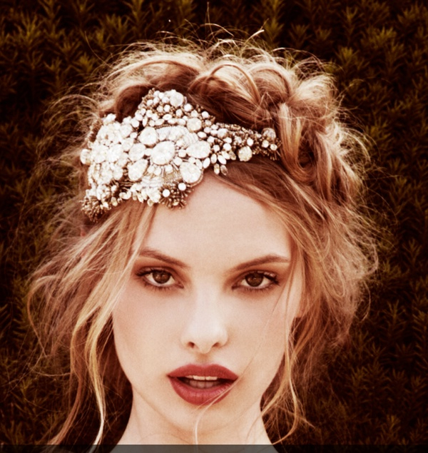 Vintage Hairstyles That Match Your Vintage Dress – Hair World Magazine Intended For Soft Wedding Updos With Headband (View 21 of 25)