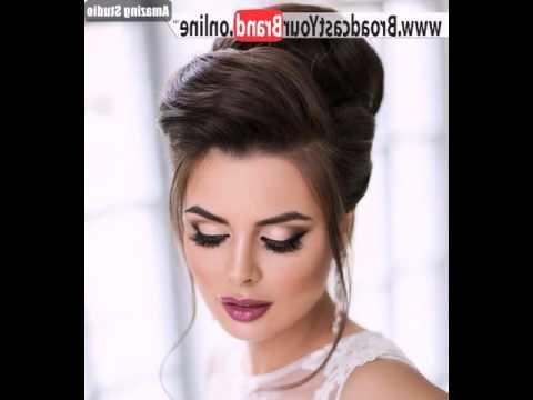 Voluminous Bridal Beehive Updo – Youtube Intended For Sleek And Voluminous Beehive Bridal Hairstyles (View 13 of 25)