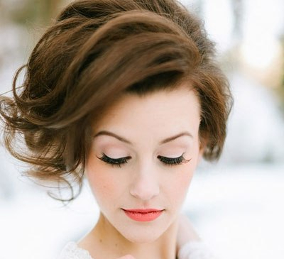 Voluminous Chignon With Side Part – Prom, Wedding, Party, Formal Pertaining To Voluminous Side Wedding Updos (View 5 of 25)