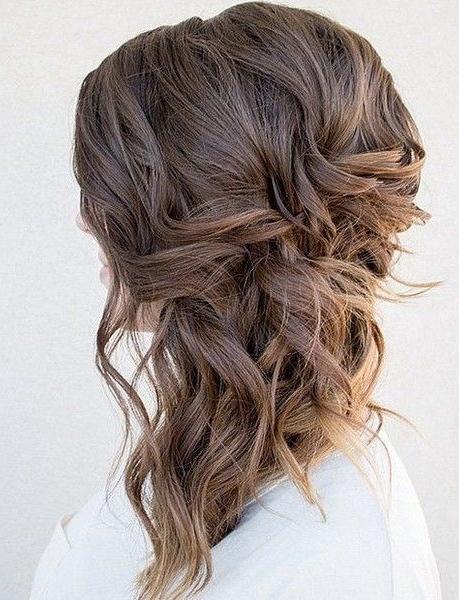 Voluminous Side Swept Curls In 2019 | Wedding | Wedding Hairstyles With Regard To Voluminous Side Wedding Updos (View 2 of 25)