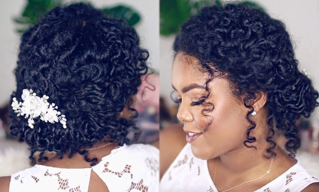 Wait Until You See This Wedding Hairstyle For Natural Curly Hair Throughout Naturally Curly Wedding Hairstyles (View 16 of 25)