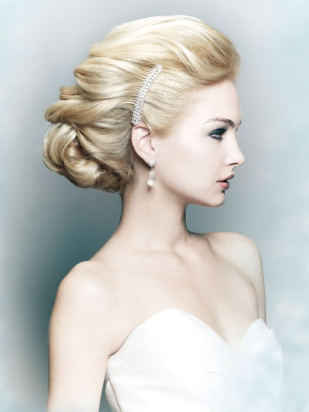 Wedding And Bridal Hairstyles, Soul Hairdressing, Belfast For Formal Bridal Hairstyles With Volume (View 2 of 25)