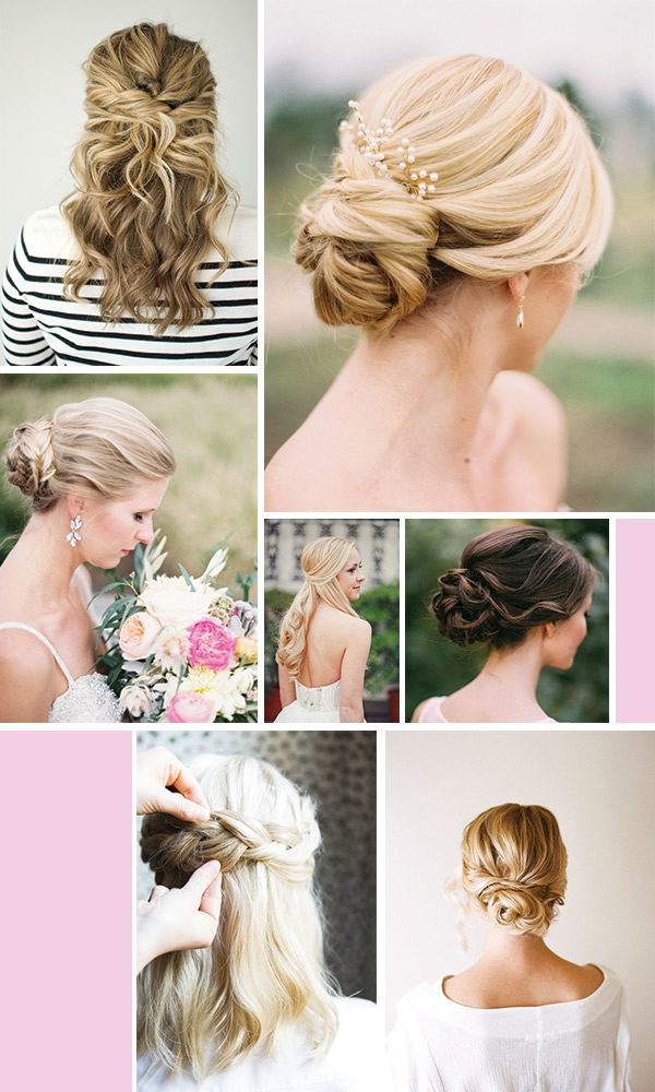 Wedding Bliss: Bridal Hair Ideas – Michaela Noelle Designs Intended For Blonde Half Up Bridal Hairstyles With Veil (View 17 of 25)