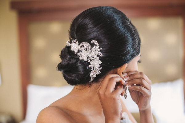 Wedding Hair: 10 Pretty Updos For The Big Day – Inside Weddings Intended For Wedding Low Bun Bridal Hairstyles (View 14 of 25)