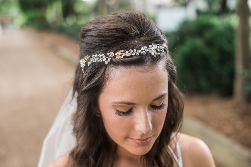 Wedding Hair Accessories: A Glossary – Weddingwire Pertaining To Half Up Wedding Hairstyles With Jeweled Clip (View 12 of 25)