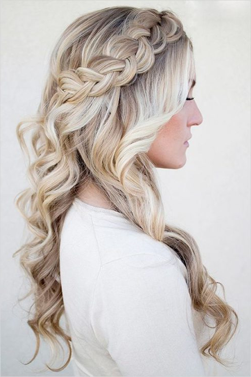 Wedding Hair For The Gown You'll Wear At All Brides Beautiful Pertaining To Simple Laid Back Wedding Hairstyles (View 25 of 25)