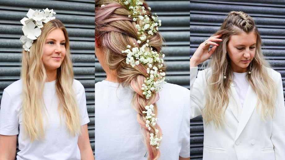 Wedding Hair: How To Avoid Looking Like A Basic Bride In Natural Looking Braided Hairstyles For Brides (View 21 of 25)