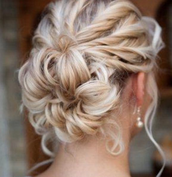 Wedding Hair, Sixth Sense Hairdressers, Sutton Coldfield With Sectioned Twist Bridal Hairstyles (View 16 of 25)