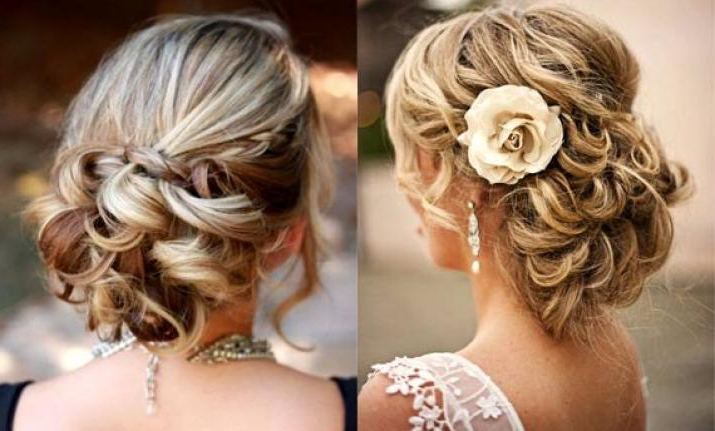 Wedding Hairstyle: Try Romantic Side Bun This Time (View Pics With Regard To Subtle Curls And Bun Hairstyles For Wedding (View 15 of 25)