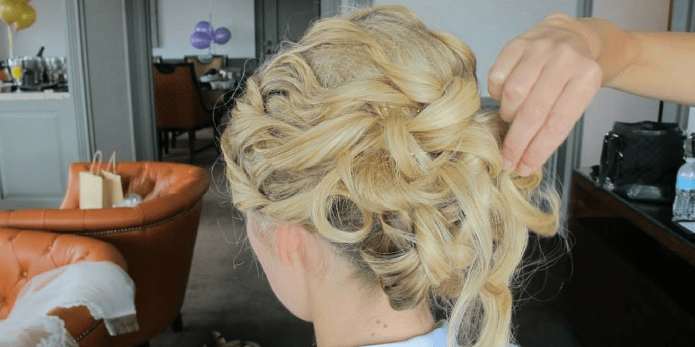 Wedding Hairstyles & Achieving Your Dream Hair For Your Wedding Regarding Airy Curly Updos For Wedding (View 15 of 25)
