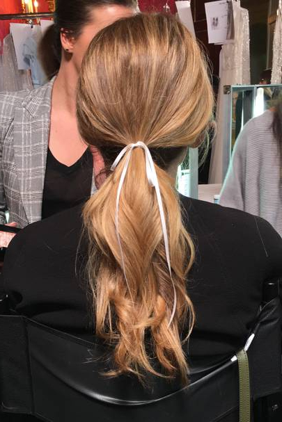 Wedding Hairstyles & Bridal Hair Ideas 2018 | Glamour Uk Intended For Ponytail Bridal Hairstyles With Headband And Bow (View 6 of 25)