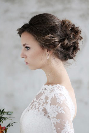 Wedding Hairstyles, Bridal Hair, Soul Hair Salon, Belfast Within Bridal Mid Bun Hairstyles With A Bouffant (View 24 of 25)
