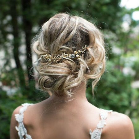 Wedding Hairstyles For Different Hair Lengths   Finder (View 17 of 25)