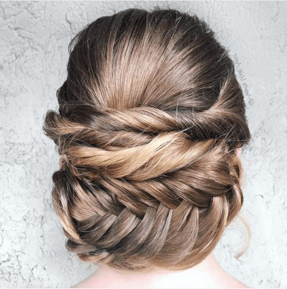 Wedding Hairstyles For Every Hair Type | A Practical Wedding With Regard To Short And Flat Updo Hairstyles For Wedding (View 13 of 25)