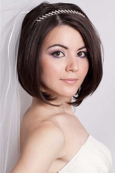 Wedding Hairstyles For Short Hair 2015 Braided Bob Hairstyles For In Braided Bob Short Hairdo Bridal Hairstyles (View 15 of 25)