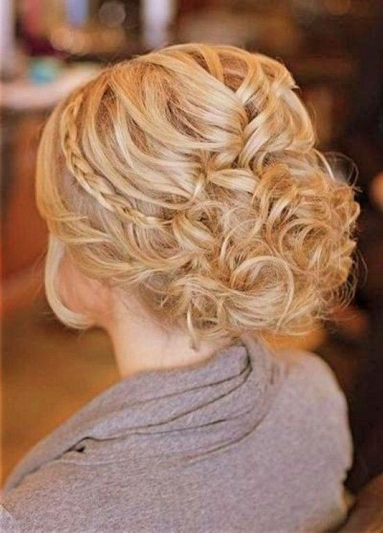 Wedding Hairstyles For Thin Hair, Wedding Half Updos For Thin Hair Within Wedding Semi Updo Bridal Hairstyles With Braid (View 22 of 25)