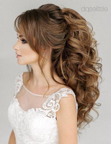Wedding Hairstyles In 2018 | Hair | Pinterest | ??????, ?????? Regarding Voluminous Bridal Hairstyles (View 2 of 25)