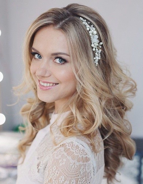Wedding Hairstyles – Page 2 – Foliver Blog For Tender Shapely Curls Hairstyles For A Romantic Wedding Look (View 11 of 25)