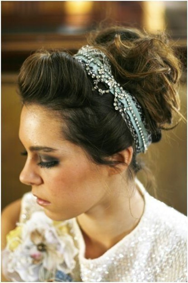 Wedding Hairstyles That Add Volume – Hair World Magazine For Brushed Back Bun Bridal Hairstyles (View 23 of 25)