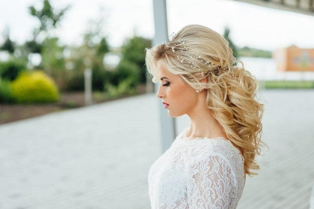 Wedding Hairstyles – Top 16 Styles For Short And Long Hair Inside Curly Wedding Updos With A Bouffant (View 10 of 25)