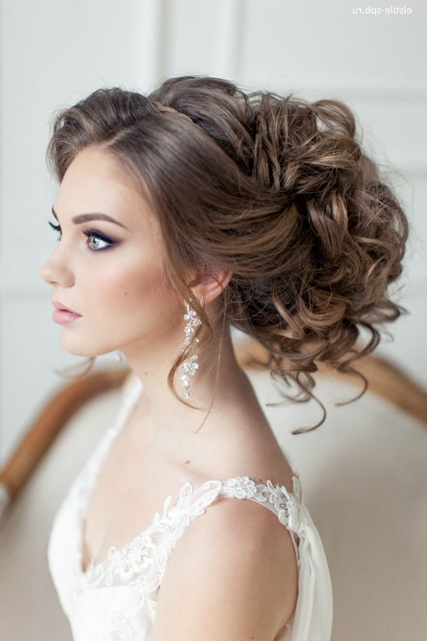 Wedding Hairstyles | Tulle & Chantilly Wedding Blog Pertaining To Highlighted Braided Crown Bridal Hairstyles (View 20 of 25)