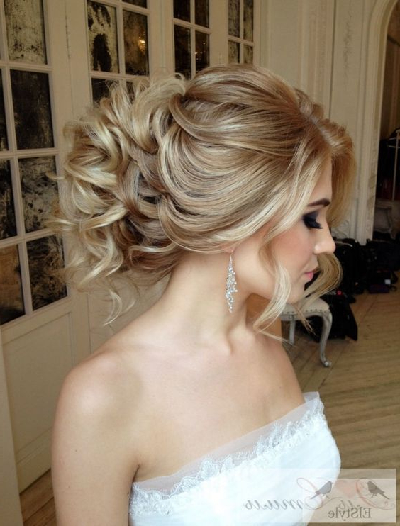 Wedding Hairstyles With Luscious Elegance | Bridal Collection Throughout Voluminous Bridal Hairstyles (View 9 of 25)