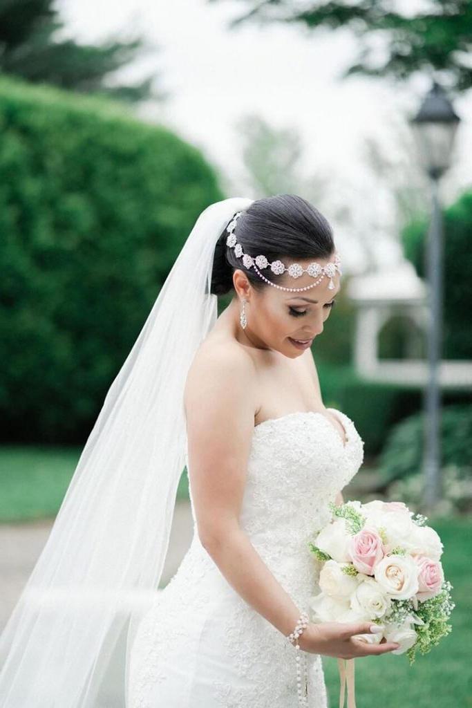 Wedding Inspiration – Mon Cheri Bridals With Mermaid Inspired Hairstyles For Wedding (View 22 of 25)