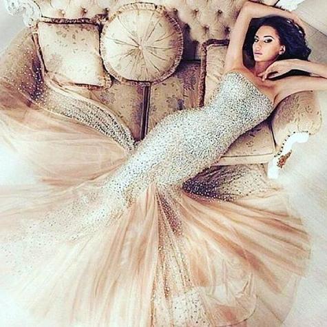 Wedding Online – Moodboards – 23 Mermaid Inspired Wedding Ideas Regarding Mermaid Inspired Hairstyles For Wedding (View 20 of 25)