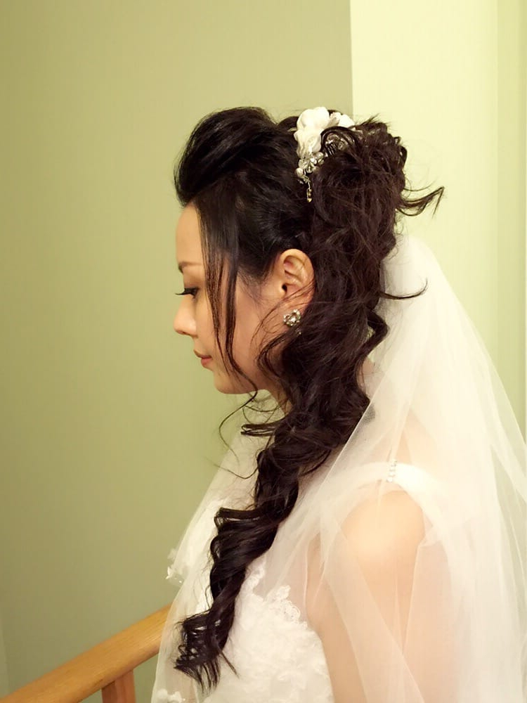 Wedding Updo – Yelp Intended For Wedding Updos With Bow Design (View 23 of 25)