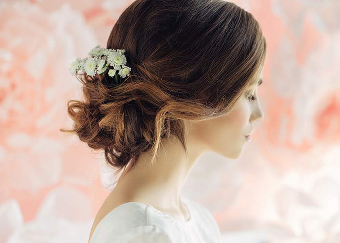 Wedding Updos: Bridal Hairstyles And Updo Inspiration For Your Intended For Sectioned Twist Bridal Hairstyles (View 17 of 25)