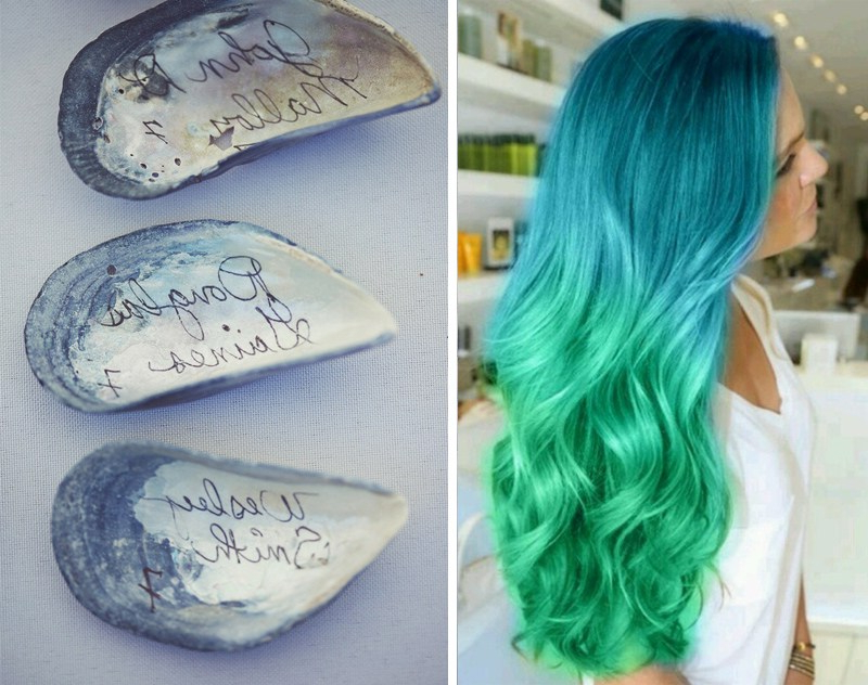 Wednesday Wedding Inspiration: Magical Mermaids | Bespoke Bride With Mermaid Inspired Hairstyles For Wedding (View 8 of 25)