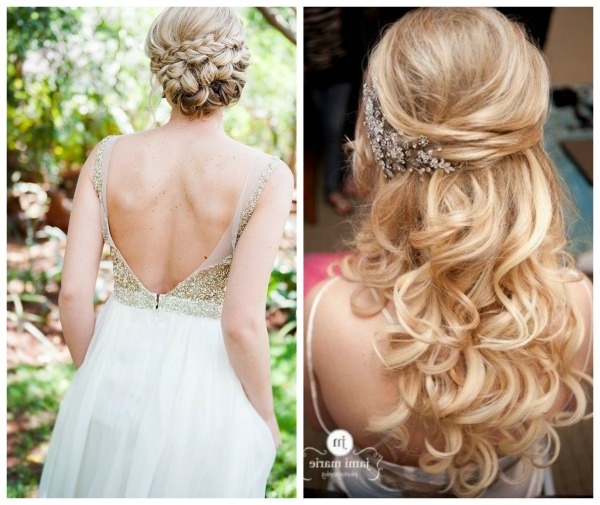 Which Wedding Day Hairstyle Wins Out As Most Popular 2015 Weddings? For Loose Curls Hairstyles For Wedding (View 16 of 25)
