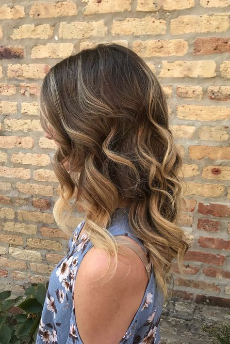 Wild Waves For Formal | Hairgoldplaited | Formal Hairstyles Intended For Wild Waves Bridal Hairstyles (View 5 of 25)