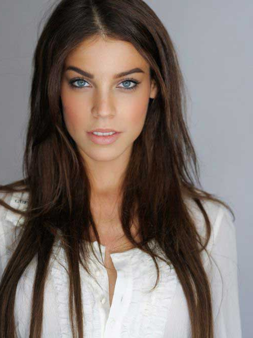 10 Amazing Ways To Style Long Brown Hair For 2019 With Regard To Dark Brown Long Hairstyles (View 19 of 25)