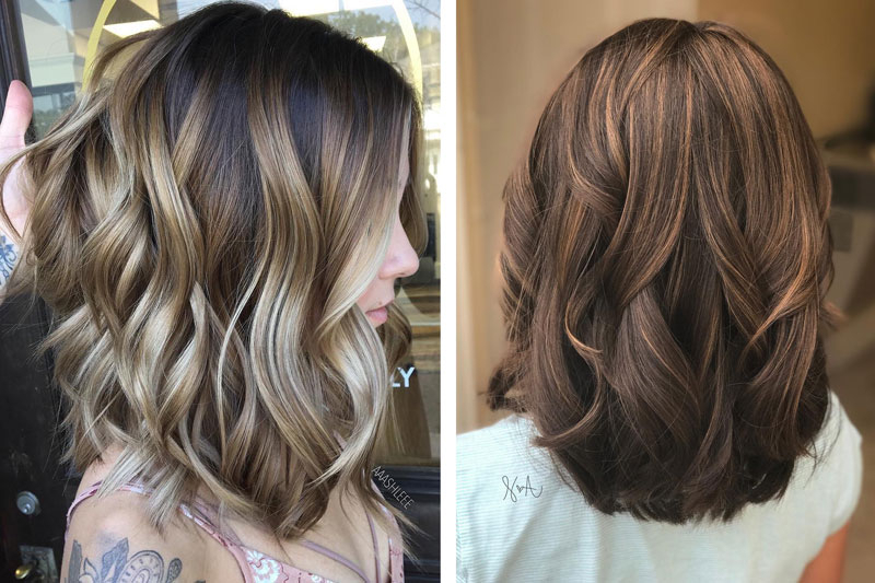 10 Balayage Ombre Hair Styles For Shoulder Length Hair – Lifob Inside Layered Ombre For Long Hairstyles (View 18 of 25)