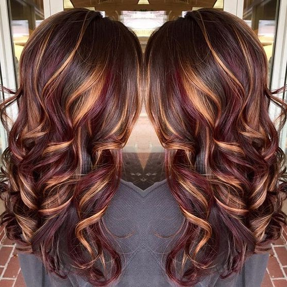 10 Beautiful Hairstyle Ideas For Long Hair 2019 Within Long Hairstyles Colors (View 4 of 25)
