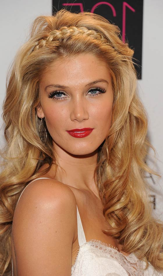 10 Beautiful Updos For Long Curly Hair For Curled Long Hairstyles (View 17 of 25)
