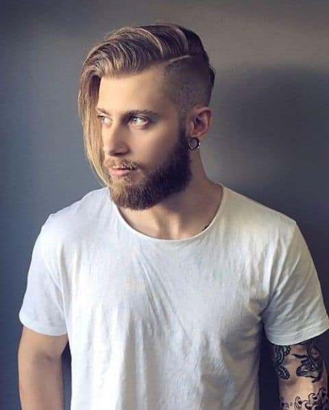 10 Best Long Haircuts With Shaved Sides All Men Need To See Regarding Long Hairstyles With Shaved Sides (View 14 of 25)