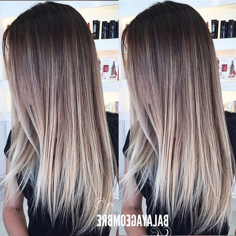 10 Best Long Hairstyles With Straight Hair, Women Long Haircuts 2019 Regarding Long Hairstyles Straight (View 24 of 25)