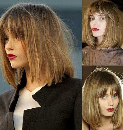 10 Bob Hairstyles For Fine Hair In Haircuts For Long Fine Hair With Bangs (View 22 of 25)