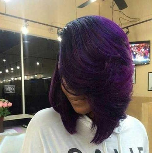 10 Classy Layered Bob Hairstyles For Black Women [2019] Inside Long Layered Hairstyles For Black Women (View 23 of 25)
