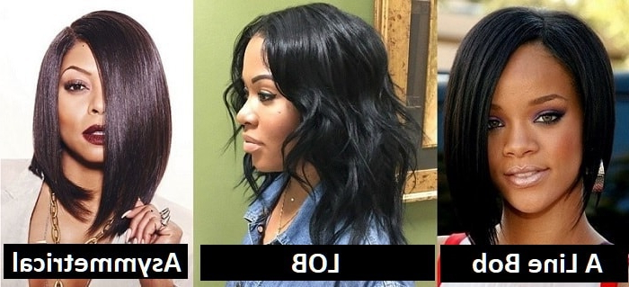 10 Classy Layered Bob Hairstyles For Black Women [2019] Inside Long Layered Hairstyles For Black Women (View 20 of 25)